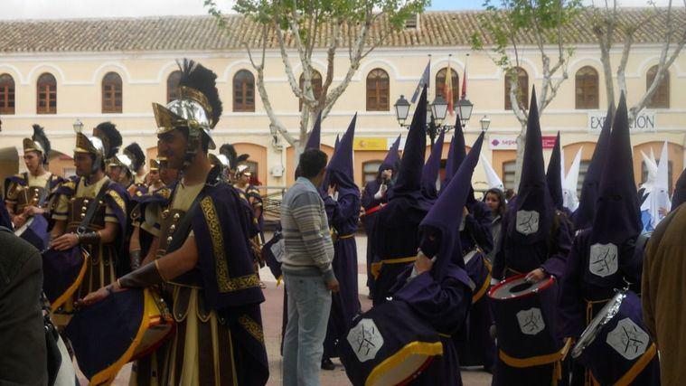 Semana Santa de Villacañas (Toledo), declarada Fiesta de Interés Turístico Regional.