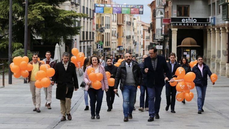 Rosado confía en lograr el escaño de Guadalajara