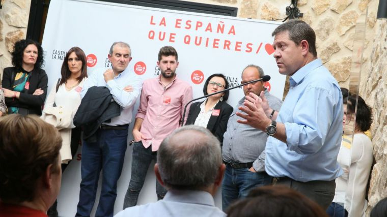 García-Page se compromete a incrementar las plazas de sanidad, educación y servicos sociales en CLM
