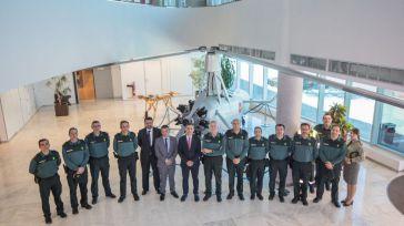Francisco Tierraseca agradece el trabajo de la Guardia Civil durante la Junta de Coordinación de Zona