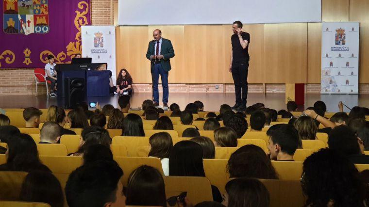El presidente de la Diputación de Guadalajara participa en la clausura del I Encuentro Provincial MUSE con centros educativos de la provincia