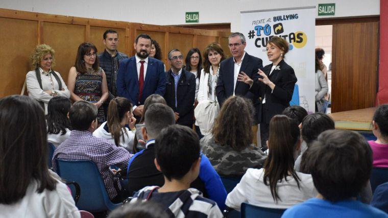 El Gobierno de Castilla-La Mancha aboga por implicar a toda la sociedad en la lucha contra el acoso escolar