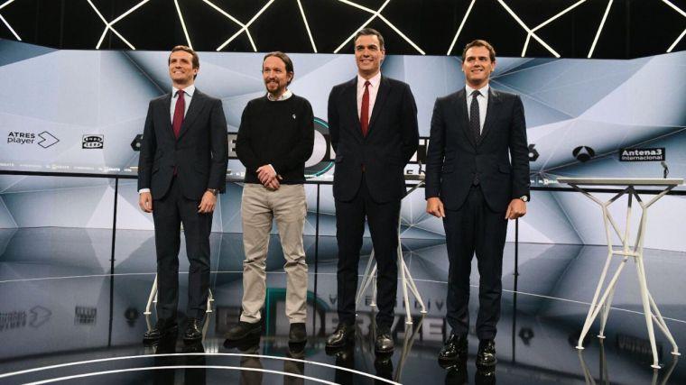 El futuro de los partidos y de sus líderes, salvo Sánchez, pasa por el 26M
