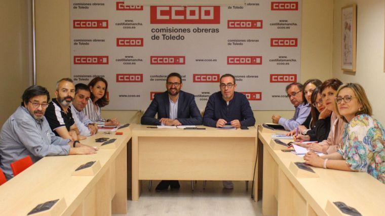 PSOE y CCOO apuestan por la creación de empleo de calidad y el desarrollo económico de Castilla-La Mancha