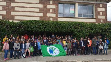 Diez centros escolares de Guadalajara reciben la 'Bandera Verde' dentro del proyecto Ecoescuelas que promueve la Diputación