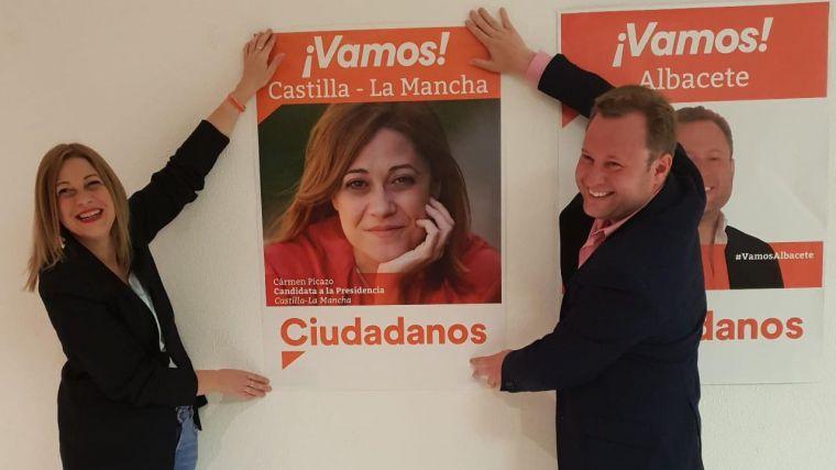 La candidata de Cs a la presidencia de CLM comienza la campaña electoral en Albacete