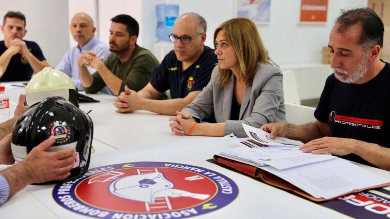 """Carmen Picazo (Cs): """"Vamos a apostar por una Ley de coordinación de todos los servicios de emergencias de CLM"""""""