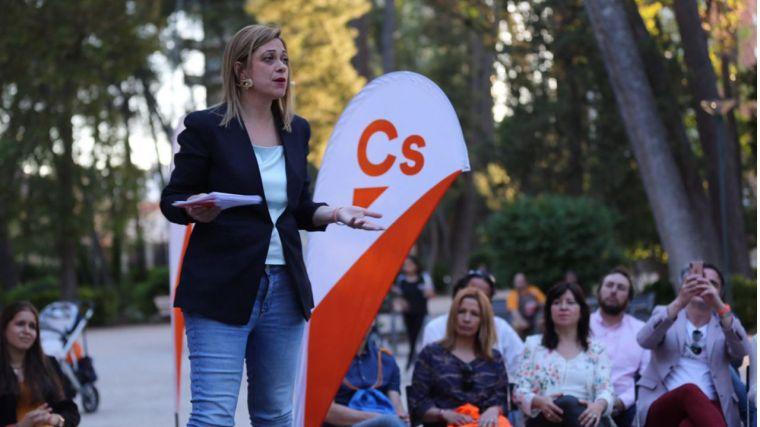 """Carmen Picazo: """"El 26M los castellanomanchegos tienen dos opciones: apostar por la modernidad o volver al pasado de la mano del bipartidismo"""""""