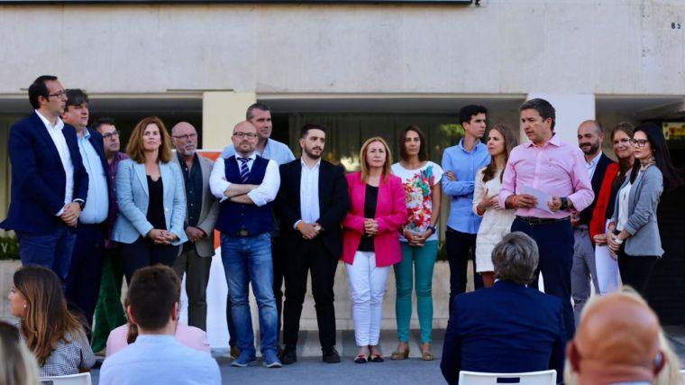 """Alejandro Ruiz: """"Cs se ha marcado un objetivo claro: sacar a esta región de la situación de parálisis a la que le ha sometido el bipartidismo"""""""