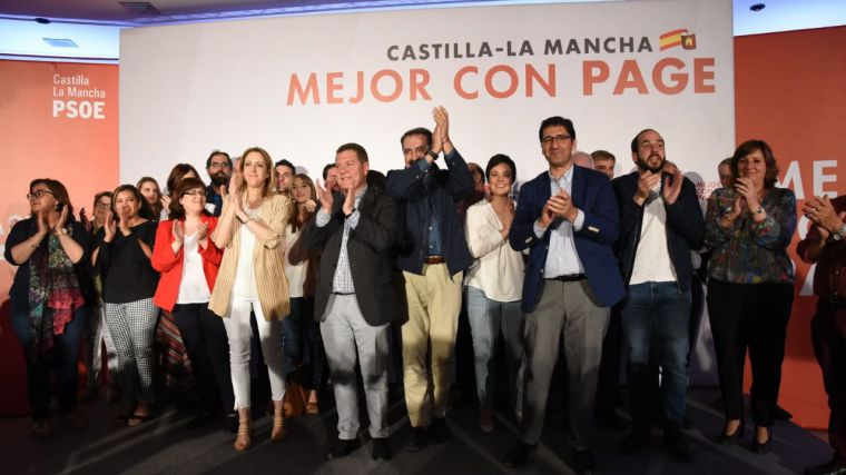 El PSOE hace un llamamiento al voto útil para García-Page