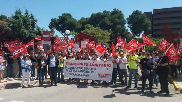 """Segunda jornada de paros de los trabajadores de Transporte Sanitario, que se niegan a terminar la legislatura """"sin un solo avance"""""""