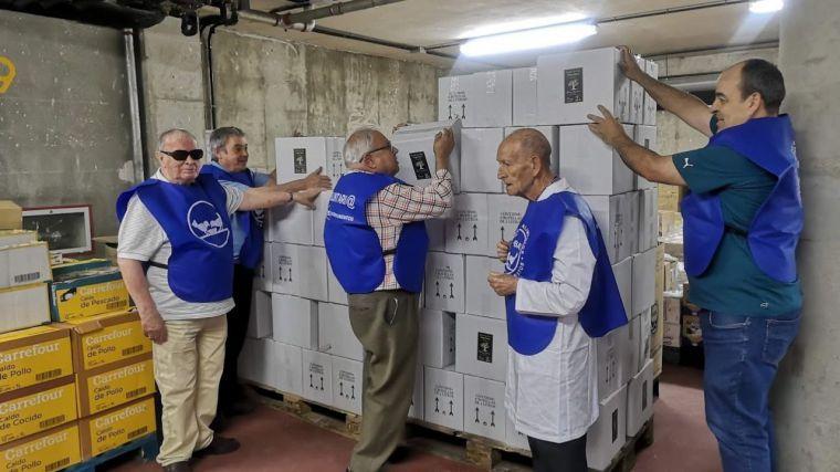 La Diputación entrega 4.440 litros de aceite de oliva ecológico a entidades sociales de la provincia de Toledo