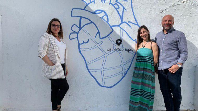 María Díaz (Unidas Podemos) visita Hellín y pone en valor el potencial de sus vecinos