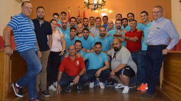 El alcalde de Seseña recibe al equipo de fútbol tras su ascenso a preferente