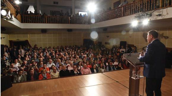 """García-Page: """"El PSOE no es solo el partido de la región, es claramente el partido de la provincia de Cuenca"""""""