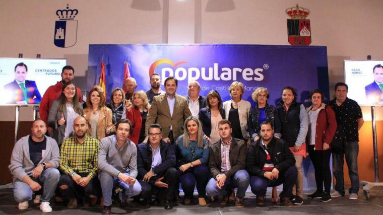 Núñez: 'El PP representa el gran proyecto para nuestra tierra en el que hay sitio para todos los castellano-manchegos'