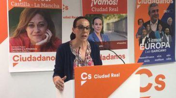 """Eva María Masías (Cs): """"Queremos que Ciudad Real sea un atractivo cultural y turístico las 52 semanas del año"""""""