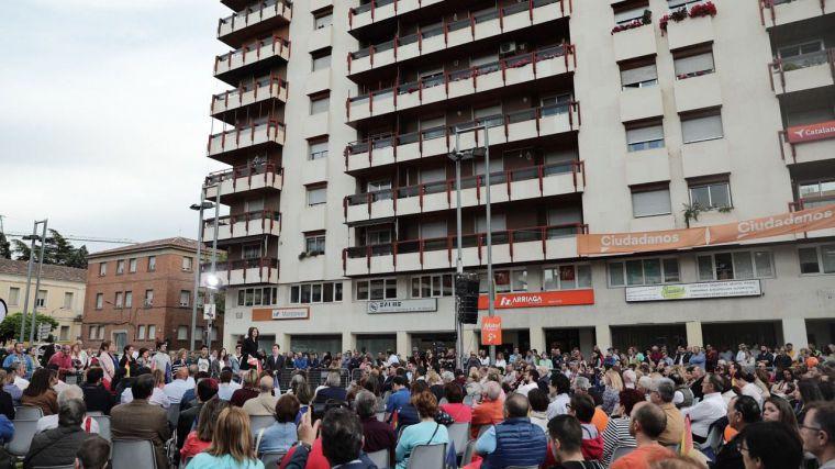 """Arrimadas en Guadalajara: """"Ciudadanos se va a dejar la piel para que todos los ciudadanos españoles tengan las mismas oportunidades"""""""