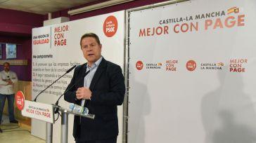 García-Page destaca la aprobación de la orden de ayudas para huérfanos de madres asesinadas por violencia machista