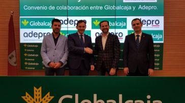 Globalcaja firma un convenio con la Asociación de Empresarios del Polígono Romica de Albacete