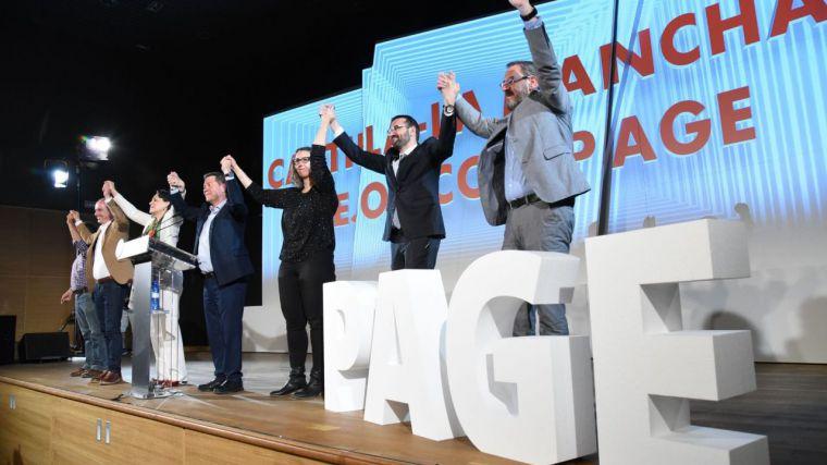 """García-Page recuerda a Podemos que él """"no es el enemigo"""" sino 'Cospedal y quienes la representan"""""""