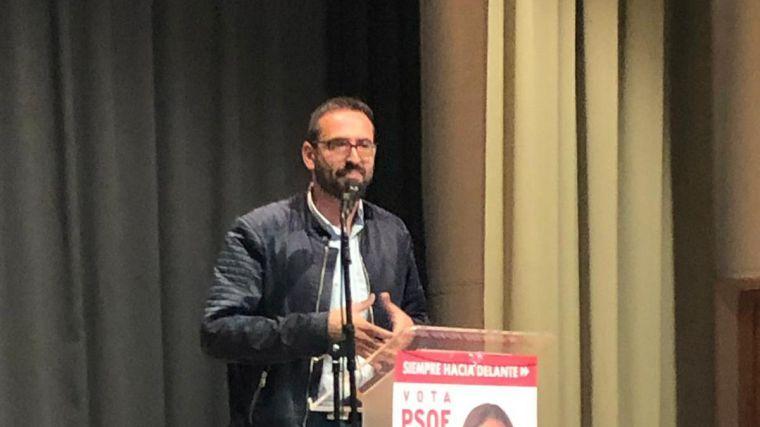 """Sergio Gutiérrez (PSOE): """"El próximo domingo es un auténtico referéndum sobre si queremos o no seguir con la recuperación de C-LM"""""""